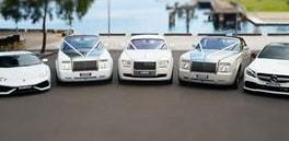 luxury cars on rent for wedding in delhi